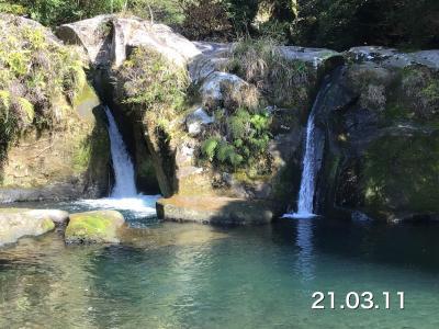 稚児の滝を見に行ってみた