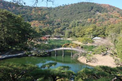 香川旅行&ちょっぴり鳴門、淡路島<5>栗林公園(南庭)!編