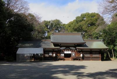 2021春、高蔵遺跡(2/4):2月17日(2):高座結御子神社、太閤出世稲荷、高蔵公園、5号墳、7号墳、8号墳