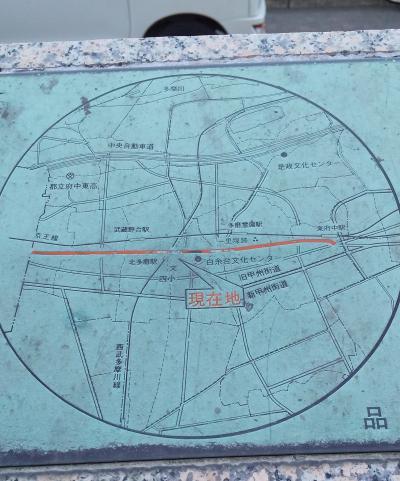 3-旧甲州街道 千歳烏山駅~東府中駅(1/21 10.5km 20000歩 )
