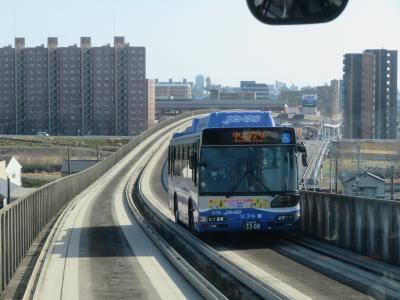高架を走るガイドウエイバスでは世界唯一!? 走り始めて20周年の「ゆとりーとライン」