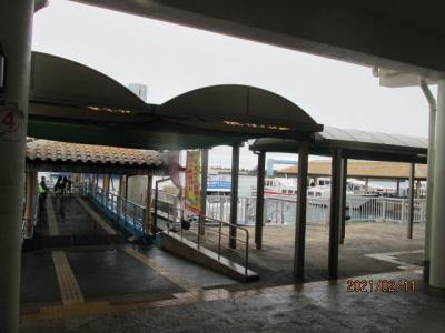 12年ぶりの石垣島(8)石垣離島フェリーターミナル。