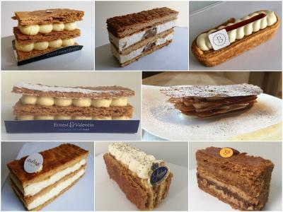 パリ:至福のケーキ屋巡り。ミルフィーユ★ベスト8