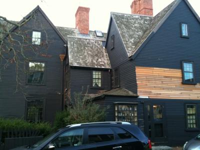 マサチューセッツ州 セーラム - ホーソンの小説「七破風の家」の舞台となったホーソンの生家