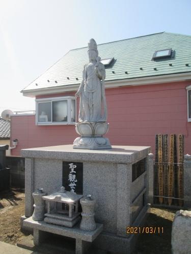 松戸市の幸田・長養寺・下総観音霊場(10)・石仏