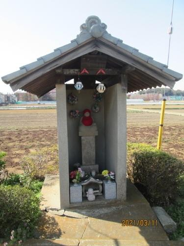 松戸市の幸田・篁大師堂・江戸川88ヶ所めぐり(3)