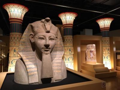 古代エジプト展と両国ぶらり散歩
