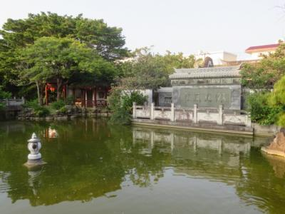 那覇市街にある「福州園」と「久米至聖廟」を散策しました