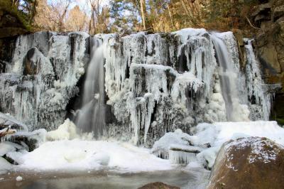 ◆小寒の風物詩~氷結の八流の滝