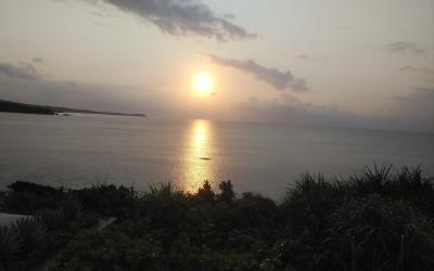 ハレクラニ沖縄サンセットリベンジできました