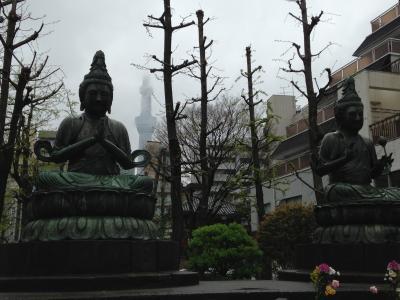 4月なのに肌寒かった2015年の東京