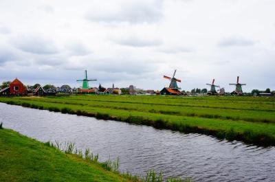 ゴールデンウィークに、オランダのチューリップと美術館巡り8日間⑧。ザーンスカンスの風車4日目後半