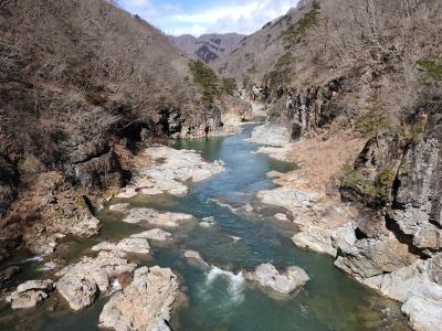 龍王峡ハイキングと田舎ゆば膳ランチで楽しむ日曜日