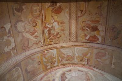 サン・サヴァン村で、世界遺産のフレスコ画に触れる。