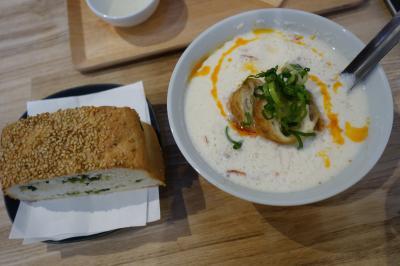 20210315-3 京都 出町柳で台湾茶と、台湾的早餐。福到