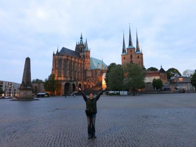 心の安らぎ旅行(2019年 夫目線Part19 Erfrut エアフルト Domplatz ドーム広場♪)