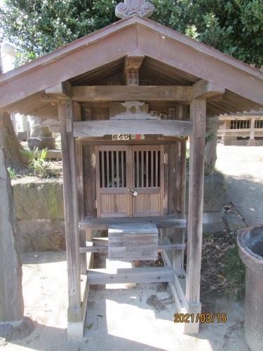 松戸市の主水新田・稲荷神社・江戸川88ヶ所めぐり・(71)・石仏