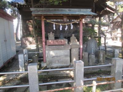 松戸市の大谷口新田・稲荷神社・江戸川88ヶ所めぐり(13)(43)