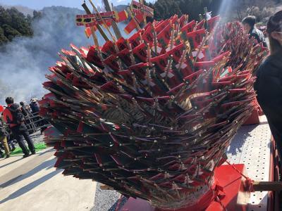 高尾山の火渡り