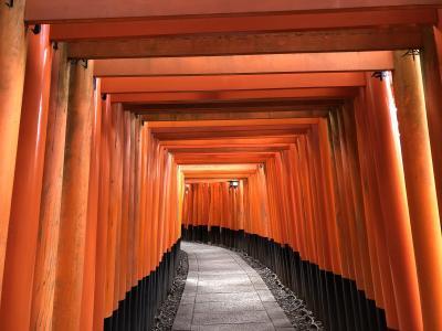 京都の路地裏ウォーキング