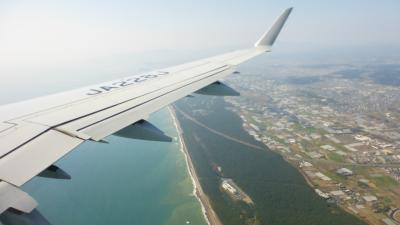 今年初飛行機利用で宮崎1泊2日旅【JAL3625(J-AIR運行便)福岡~宮崎 搭乗編】