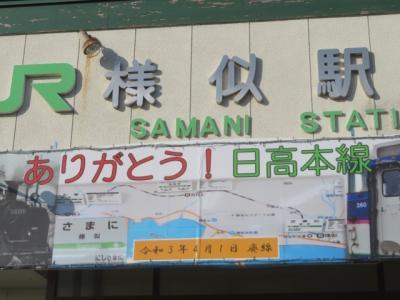 乗ってきました北海道の「日高本線(苫小牧~様似)」