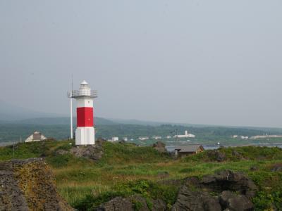 北海道離島の旅 その1 天気はいいのになぜか見えない利尻山