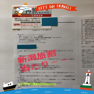 2021年3/11~1泊☆新潟「旅割」が当たり~~10000円引き/Go!!特別室*新潟/雪の花