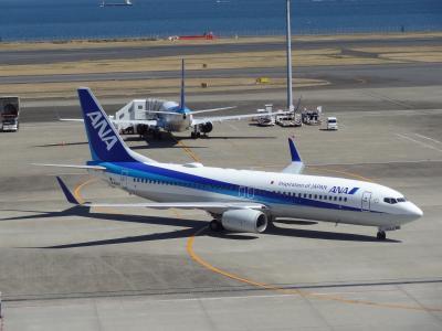 西日本ASBR乗りまくり&蟹,河豚食旅・その1.ASBRのAはAirline.ANAで関空へ。