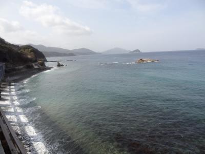 西日本ASBR乗りまくり&蟹,河豚旅・その6.ローカル線絶景鉄道旅。