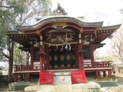 松戸市の北小金・八坂神社・石仏