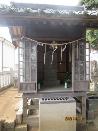 松戸市の二ツ木・蘇羽鷹神社・江戸川88ヶ所めぐり(81)・庚申堂