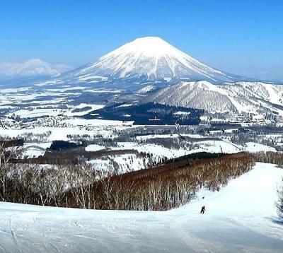 団塊夫婦のスキー&絶景の旅・2021ー(4)快晴のルスツを滑り最後は洞爺湖へ