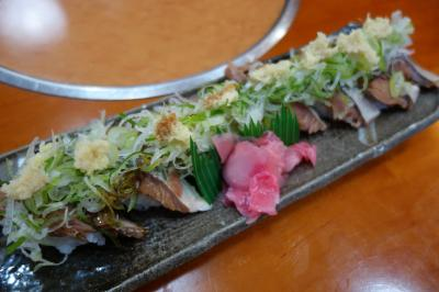 20210320-5 伊根 お食事処探して、兵四楼。へしこ寿司とかいただきます。