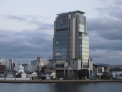 山陰合同銀行本店ビルからの眺望