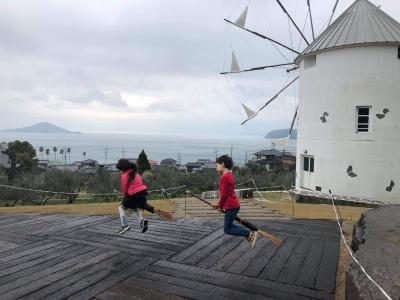 5・7歳連れ、週末小豆島旅行+さぬきこどもの国満喫