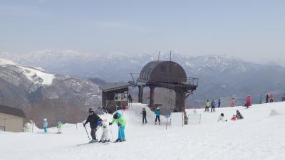 八方尾根で春スキー :(付) 腹が出てもスキーウェアを買い換えなくて済む方法