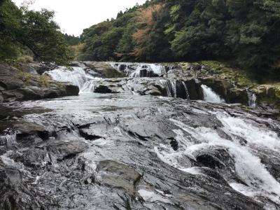 扇落としの滝を見に行ってみました