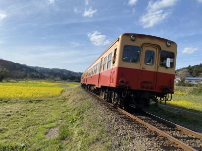 2021年3月 小湊鐵道日帰り夫婦旅行