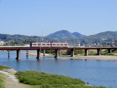 近鉄の路線中、最も古い歴史を誇る『道明寺線』 二上山を眺めながら☆