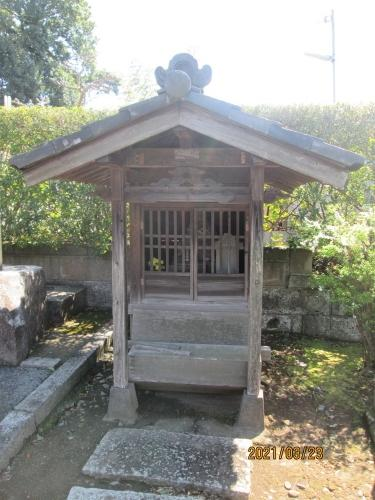 松戸市の二つ木・常行院・江戸川88ヶ所めぐり(80)・石仏
