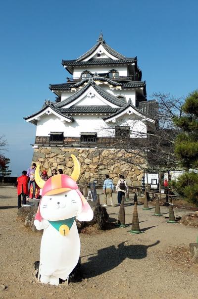 二度目の彦根城、またしても「ひこにゃん」に会えず。今回は彦根城と大老・井伊直弼を学ぶ