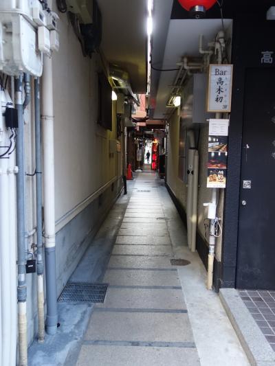 先斗町を昼間に歩いてなんとする。野暮ですね。