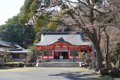 20210324-1 大津 佐久奈度神社まで連れて来られて…お参りして、鹿跳橋から瀬田川に降りたり