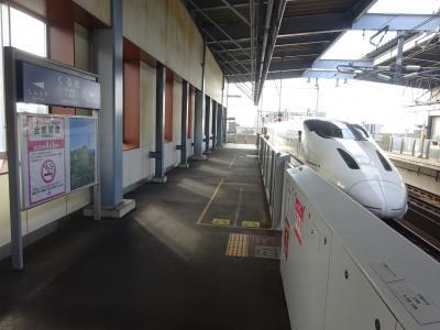 久々の九州・ソロリと福岡まで行ってきた【その1】 わけあって、九州新幹線800系で久留米に行く