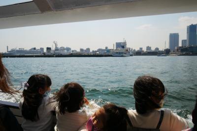 海から横浜に、シーバス1dayパスポート、夕方から風が吹いて欠航じゃん編