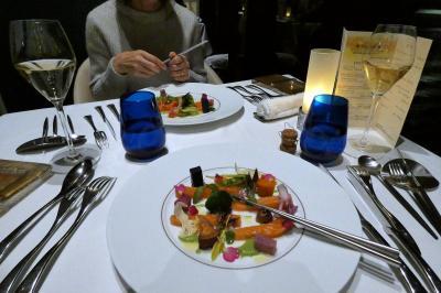 年末年始のエクシブ8連泊 エクシブ湯河原離宮 イタリア料理 リストランテ マレッタの夕食