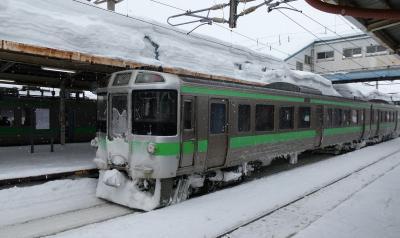 雪の函館本線 普通列車の旅 前編