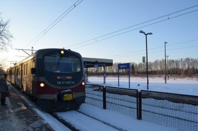 ウッチという街はワルシャワから電車で一時間ほど、春のお彼岸で零下十五度の寒さでした