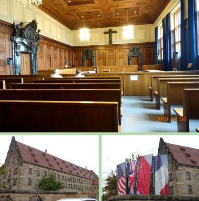 2019秋旅 ニュルンベルク国際軍事裁判所見学 (東京裁判の展示もあり)